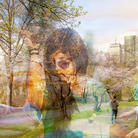 Double Exposure Image
