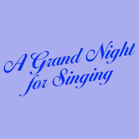 A grand night for singing logo