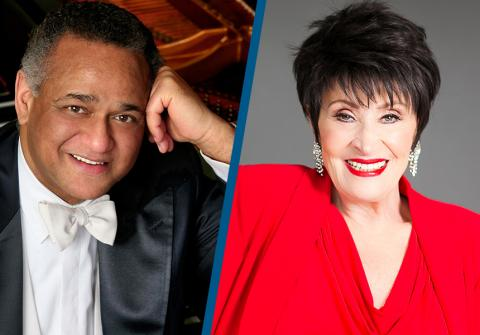 André Watts (image by Steve J. Sherman) and Chita Rivera (image by Laura Marie Duncan)
